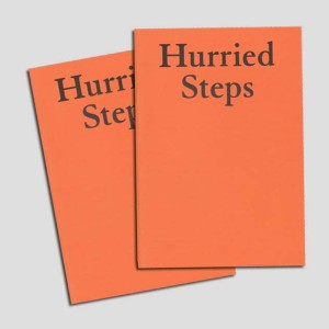 hurried steps book