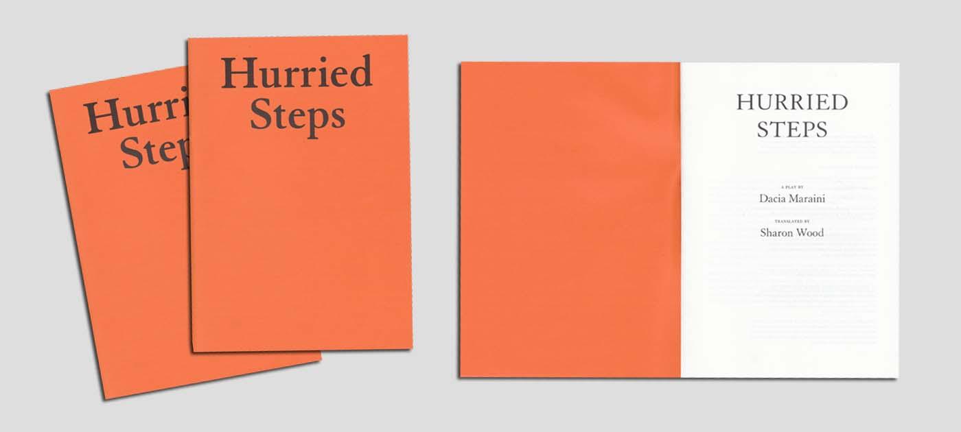 hurried steps book